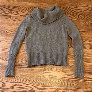 [Loft] Wool Cowl Neck Sweater - S